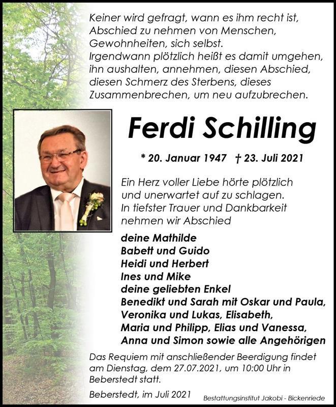Profilbild von Ferdi Schilling