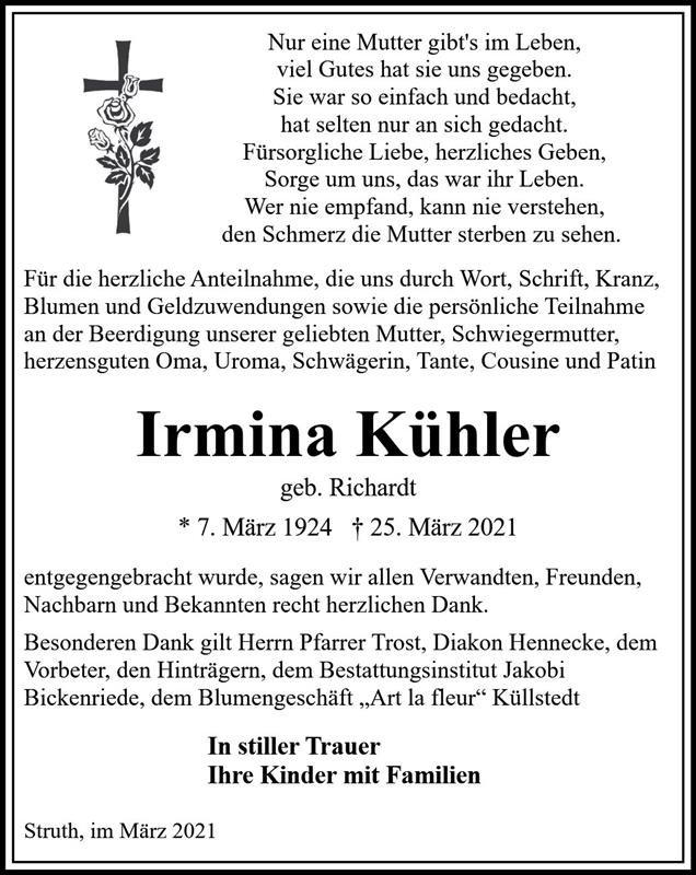 Profilbild von Irmina Kühler