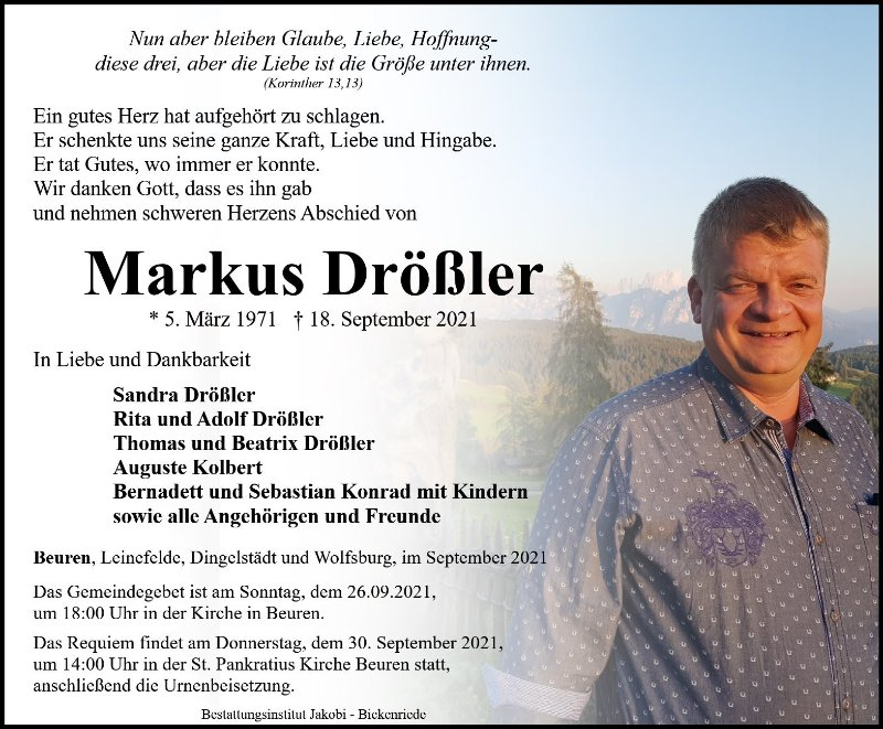 Profilbild von Markus Drößler